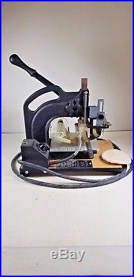 Kingsley Hot Foil Stamping Machine M-75A Series H 120V 75W 50-60Hz