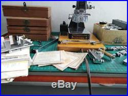 Kingsley Hot Foil Stamping Machine with accessories and Boxes of Type Sets