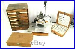 Kingsley Machine Double Line Accessories Lot Hot Gold Foil Stamping Embossing