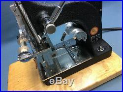 Kingsley Machine (M-60 Two-Line Machine) Hot Foil Stamping Machine