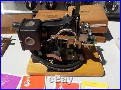 Kingsley Machine Model M-101 Multi-Line Hot Foil Stamping Machine plus extra's
