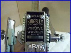 Kingsley Machine Model M-50 Hot Foil Stamping Machine + ALOT Accessories in Box