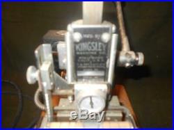Kingsley Machine Model M-60 Hot Foil Stamping Machine FREE SHIP