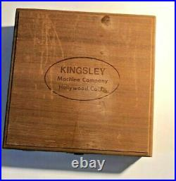 Kingsley Machine Newport Monograms Type