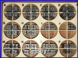 Kingsley Machine Type (12pt. Americana) Hot Foil Stamping Machine