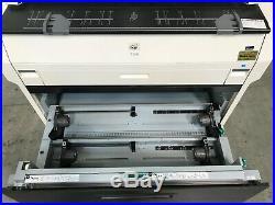 Kip 7170 Wide Format Copier Printer Scanner Only 183K meter reading