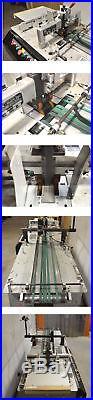 Kirk-Rudy 215-36 Ink Jet Vacuum Base Labeler 2-Motor 36-Ext Scitex 5120 Printer