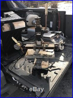 Kwik Print Model 55 Hot Stamping Machine Foil Stamp Press Embosser