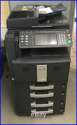 Kyocera Taskalfa 400CI Farbkopierer Drucker Scanner TOP Ausdruck 1a 40S/min #50