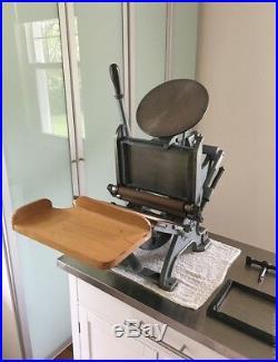 LETTERPRESS printing machine, Tabletop Letterpress, Craftsmen Imperial 5 X 8