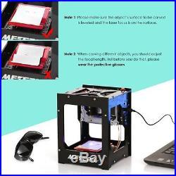 Laser Engraver Printer 1500mW Portable Household Art Craft DIY Mini Engraving