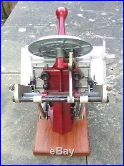 Letterpress Adana Five Three 5 x 3 Printing Press and Rollers Full Working Order