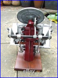 Letterpress Adana Five Three 5 x 3 Printing Press and Rollers Good Working Order