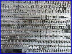 Letterpress Lead Type 18 Pt. Peking (TFP) Type Founders of Phoenix B45