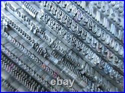 Letterpress Lead Type 18 Pt. Typo Script Extended ATF # 400 G46