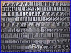 Letterpress Metal Type ATF Ultra Bodoni #518 36 Point