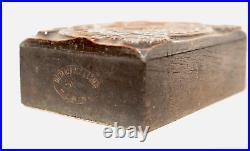 Letterpress wood type, Nebiolo three-color cliché
