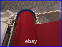 Lighthouse CPM 100 Printer Ribbons x 5 USED but nearly full rolls