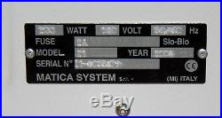 Matica Addressograph 610 Z1 Plastic Card Embosser Printer