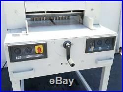 Mbm Ideal Triumph 4850 Automatic Heavy Duty 18 5/8 115v Electric Paper Cutter