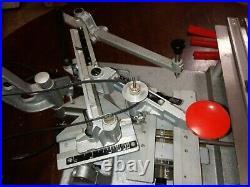 NEW HERMES ENGRAVOGRAPH Model IM ENGRAVING MACHINE PANTOGRAPH MOTORIZED