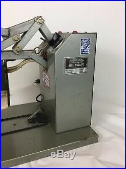 National Screen Printing Equipment Cap Logo Heated Press Hm2000 Tee Shirt