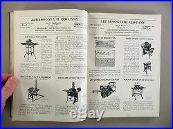 Newspaper Equipment CATALOG 1930 printing