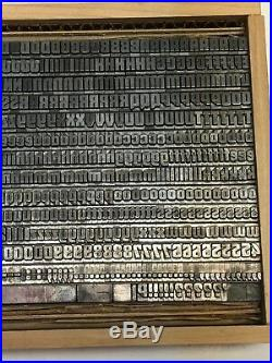 Othello 18 pt Letterpress Type Vintage Metal Lead Printing Sorts Font