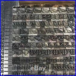 Park Avenue 12 pt ATF 577 Letterpress Type Vintage Printer's Lead Metal