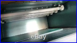 Photo glazing equipment. Also used for doming and rubber stamp making. Printing