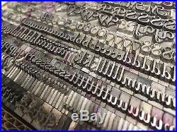 Piranesi Bold Italic 30 pt Letterpress Type Printer's Lead Metal ATF 570
