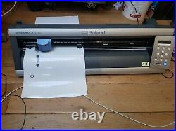 ROLAND CAMM-1 GX-24 Vinyl Cutter fully insured delivery