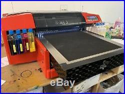 Resolute R-Jet 5 Textile DTG Direct to Garment T-shirt printer +extras (Inc vat)