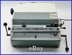 Rhin-O-Tuff Onyx HD7700 HD-7700 Ultima Heavy Duty Electric Punch withComb Die