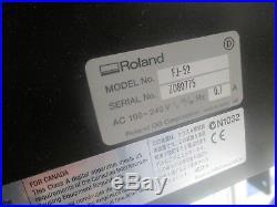 Roland FJ 52 Vinyl Printer