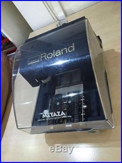 Roland Metaza MPX-80 Photo Impact Printer, Pendants, Cords & Software