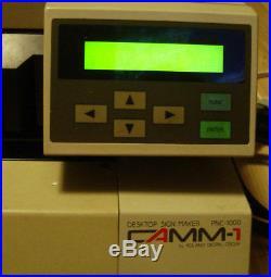 Roland Vinyl Plotter PNC-1000 | Used Printing Equipment