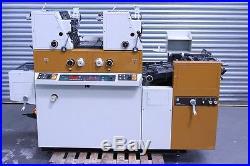 Ryobi/Itek 3985/ 3302 True Two Colours Offset Press (£1200 + VAT)
