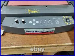 Scott Autograver Desktop Rotary Engraver EGX-30 with Vacuum System