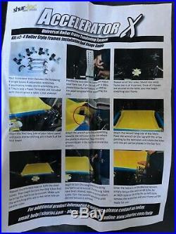 Screen Printing Shur-Loc Accelerator X Stretching Equipment Newman Roller Frames
