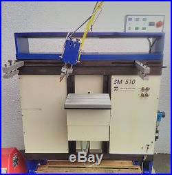 Siebdruckmaschine Teca Print TOP! Betrag ist incl. 19 % Mwst