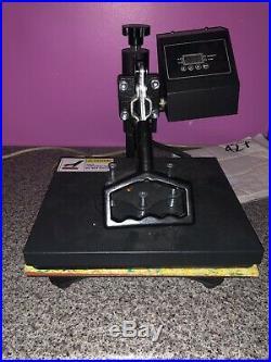 T shirt heat press machine (NO BOX NO INSTRUCTIONS) Never Been Used 30x20cm