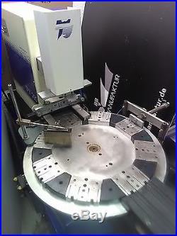 Tampondruckmaschine Teca Print TPX 250 mit Rundschalttisch! Pad Printer