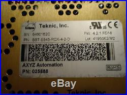 Teknic, Eclipse Servo Drive, Part#sst-e545-rcx-4-2-d, Used