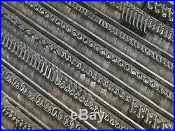 Typo Slope 24 pt Letterpress Type Vintage Metal Lead Sorts Font Fonts Print