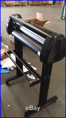 Used 24 500g Cutting Plotter Vinyl Cutter for PU Vinyl Cutting Machine