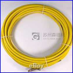 Used IPG Photonics high power fiber HLC-8-M14-10 QBH/FCH