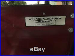 Used Moll Handfed Folder gluer