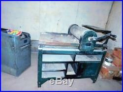 Vandercook No. 2 Large Manual Letterpress Proof Press With Cabinet Poster Printing