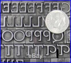 Vintage Alphabets Metal Letterpress Print Type BB&S 30pt Parsons ML84 11#